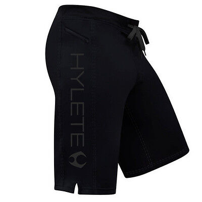 Hylete Men's Training Shorts 2.0 Stealth Black The WOD Life Crossfit
