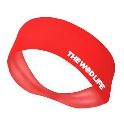 New The WOD Life Red Banner Headband from The WOD Life
