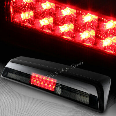 For 2007-2013 Toyota Tundra Smoke Lens RED LED Third 3RD Stop Brake Tail Light