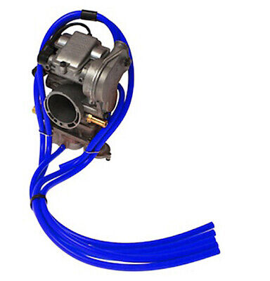 Yamaha Yz450F Samco Carby Overflow Breather Hose Carburettor Kit Blue Yzf450