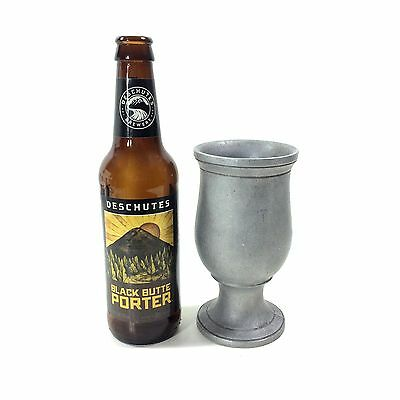 "Medieval Style Cast Metal Goblet / Chalice, 5.75"" High"
