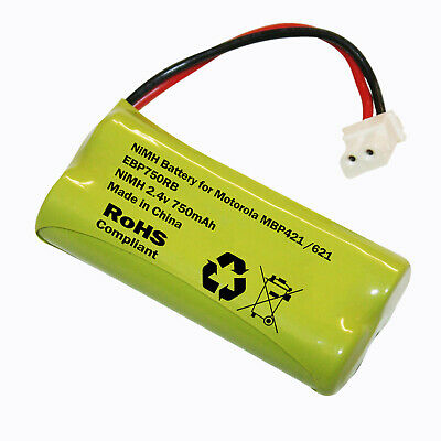 MOTOROLA MBP621 or MBP621S BABY MONITOR RECHARGEABLE BATTERY 750mAh