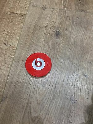 Replacement Battery Cover For Beats By Dr Dre Monster Studio Headphones Red