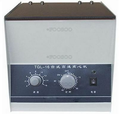 Benchtop Centrifuge Tgl-16 High-Speed 16000Rpm With Rotor And Tubes Electric O