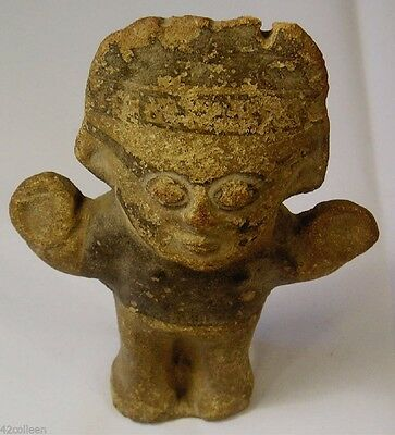 RARE Pre-Columbian Chancay Culture of Coastal Peru 1000-1450AD. SUN GOD Figure