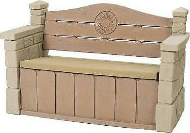 SALE Step2 Naturally Playful Outdoor Storage Bench