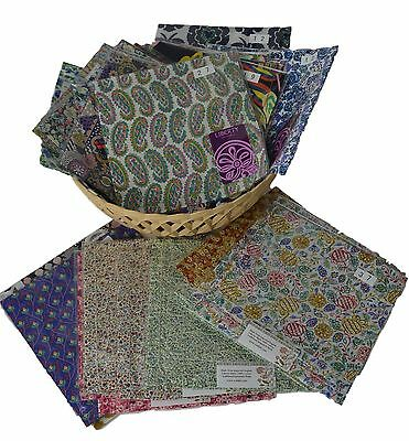 LIBERTY Art Fabric Hemstitched Handkerchief by Rosdale- Cotton - Choose Design
