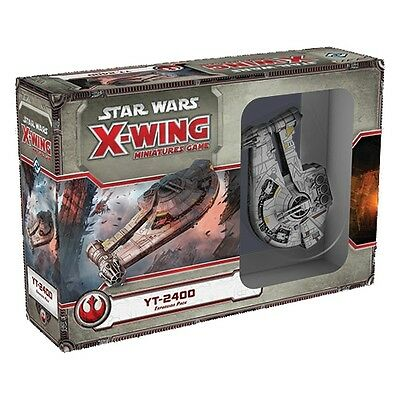 Star Wars X-Wing YT-2400 Freighter X Wing Expansion Pack Fantasy Flight Games