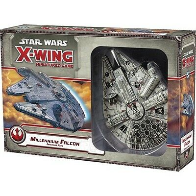 Star Wars X-Wing Millennium Falcon X Wing Expansion Pack Fantasy Flight Games