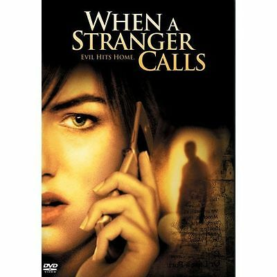 When a Stranger Calls (DVD, 2006) - Disc Only Movie! Free Ship!