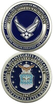 U.S. Air Force / Airman Award USAF Challenge Coin 3144