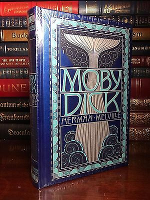 Moby Dick by Herman Melville Brand New Sealed Leather Bound Collectible Edition
