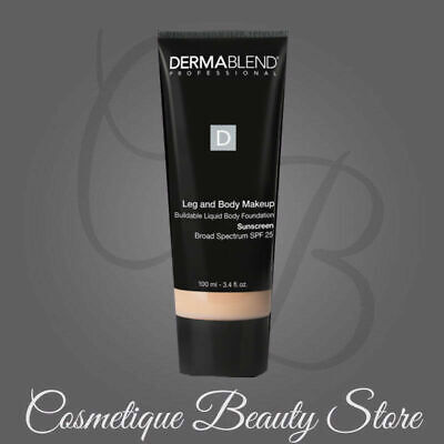 """Dermablend SPF 15 Leg And Body Cover"""" NATURAL' 3.4 oz / 100 ML *NEW IN BOX*"""