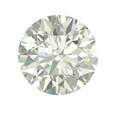 8mm Authentic 2 Carats Round FOREVER BRILLIANT Moissanite by Charles & Colvard
