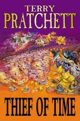 Thief of time, Pratchett, Terry Hardback Book The Cheap Fast Free Post