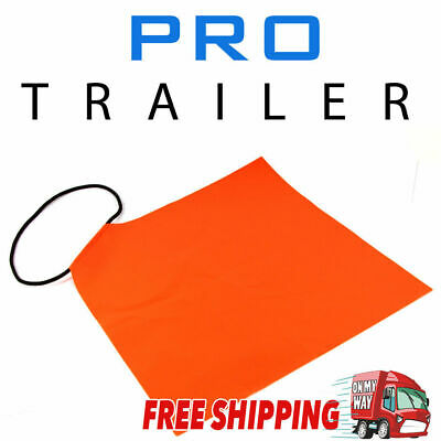 Hi Vis Long Load Flag, Boat Prop Flag, Trailer Safety Flag, Tow Transport