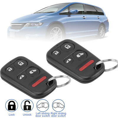 2 replacement for 2001 2002 2003 2004 Honda Odyssey Key Fob Keyless Entry Remote