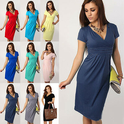 Fashion Pregnant Women Summer Comfy Maternity Dress Breastfeeding Casual Dress