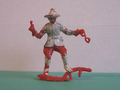 1 x CHERILEA 1960's MOUNTIE with PISTOL & HANDCUFFS.  PLASTIC TOY SOLDIER  ...