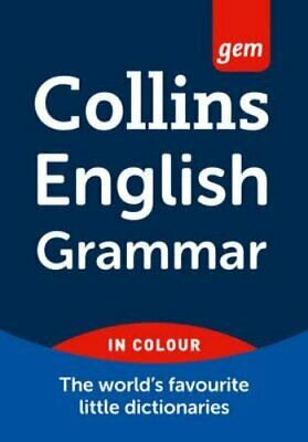 English Grammar (Collins Gem) by Collins Dictionaries Paperback Book The Cheap