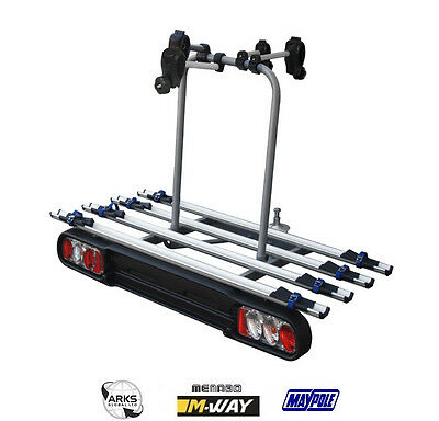 M-Way Foxhound 4 Bike Towball Cycle Carrier - BC3014