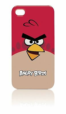 Gear4 Angry Birds Hard Shell Clip-On Case Cover For Iphone 4 / 4S - Red Bird