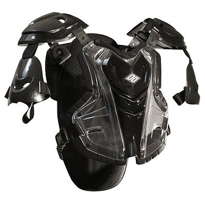 SHOT STONE GUARD MOTOCROSS MX CHEST ROOST PROTECTOR body armour black ADULT