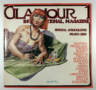 Glamour international T 1 Collectif 1985 TBE superbe revue