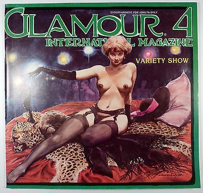 Glamour international T 4 Variety show Collectif 1985 TTBE superbe revue