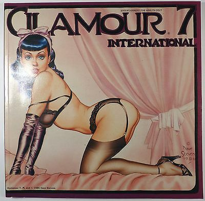 Glamour international T 7 Collectif 1985 TTBE superbe revue