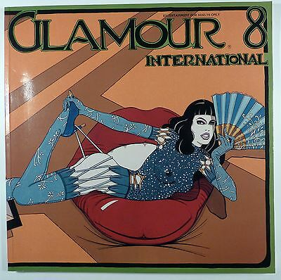 Glamour international T 8 Collectif 1985 TTBE superbe revue