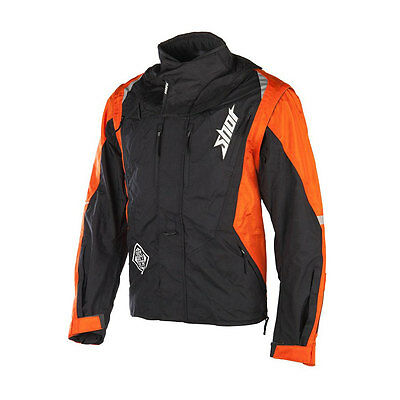 2016 SHOT FLEXOR ADVANCE ENDURO JACKET ORANGE motocross mx trail rally bike coat