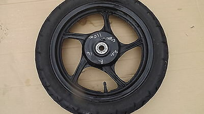 suzuki address 110 rear wheel with tyre vgc 2015 2016 injection wheels