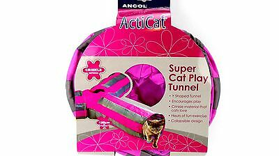 ANCOL Acticat Cat or ActiRabbit Rabbit Tunnel Y Shaped Fun Tunnel • EUR 18,47