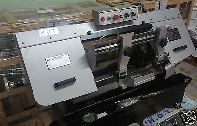 "10"" x 16"" HQT VARIALBE SPEED, HORIZONTAL BAND SAW, WITH COOLANT, NEW"