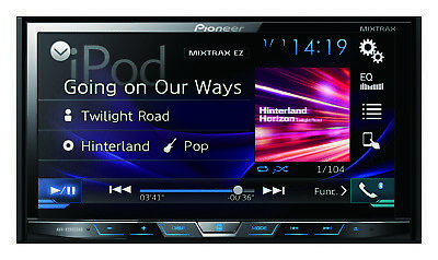 Pioneer Avh-x5800dab Ipod Android Car Audio Dvd Bluetooth Usb Avhx5800dab App Md
