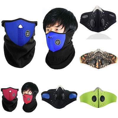 Anti-pollution Motorcycle Cycling Neoprene Anti-dust Half Face Mask with Filter