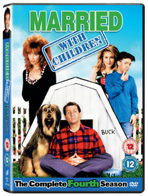 Married With Children: Season 4 DVD (2010) Ed O'Neill cert 12 ***NEW***