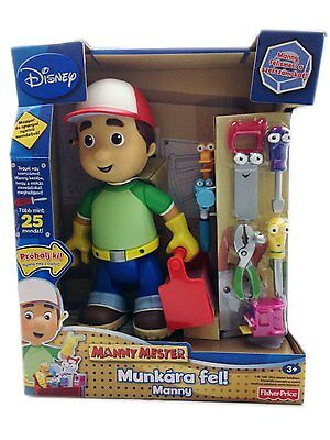 Handy Manny - Lets Get To Work Playset (Hungarian) *Does not speak English!