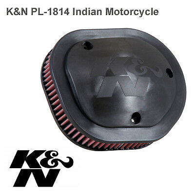 Indian Chief Cheiftan Roadmaster 111ci 14-16 K&N Performance Air Filter PL-1814
