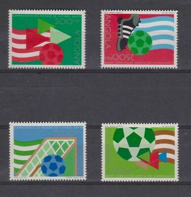 s6562) ANGOLA 19890 MNH* World Cup Football 19890 -Coppa del Mondo Calcio 4v.