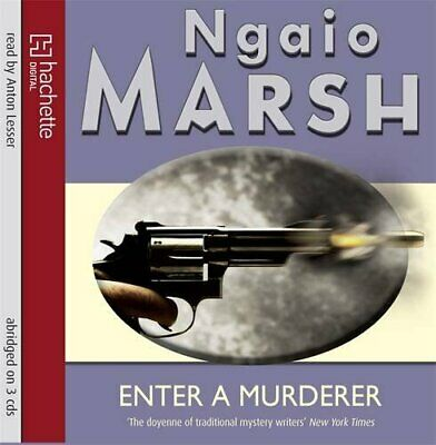 Enter A Murderer by Marsh, Ngaio CD-Audio Book The Cheap Fast Free Post