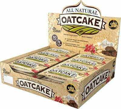 (18,17 €/1kg) All Stars All Natural Oatcake (24x80g)