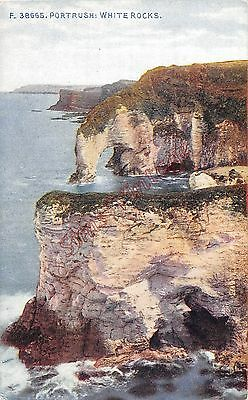 Northern Ireland Postcard Portrush White Rocks  C0 015
