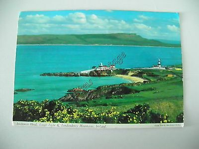 Northern Ireland B Postcard Inishoen Head Lough Foyle & Londonderry Mountains 53