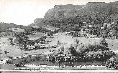 Northern Ireland Postcard Belfast Pond And Cave Hill Bellvue  I0 028
