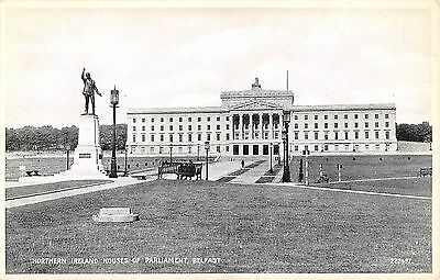Northern Ireland Postcard Belfast Houses Of PArliament  G0 032