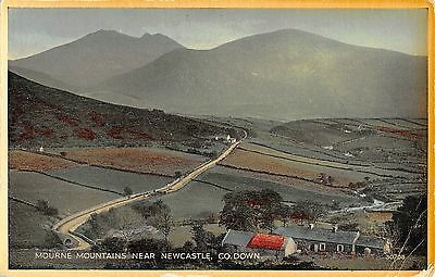 Northern Ireland Postcard Mourne Mountains Near Newcastle Co Down  J0 026