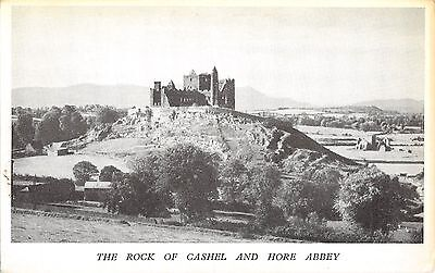 Northern Ireland Postcard The Rock Of Cashel And hore Abbey  J0 065