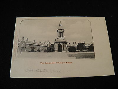 Ireland Postcard The Campanile Trinity College before alterations